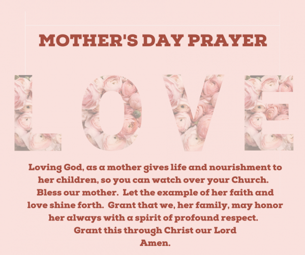 Mother's Day Prayer